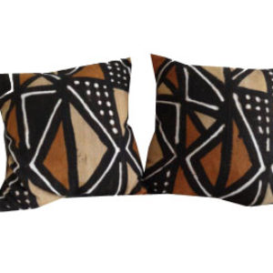 Mudcloth pillow (PAIR)