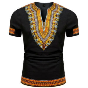 "Dashiki ""King"" Short sleeve shirt"
